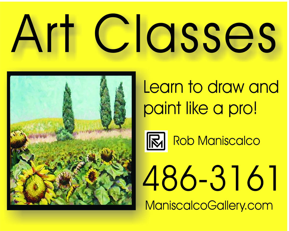 art classes sign
