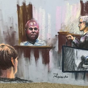 Dylann Roof Trial - Video Footage of Roof at Mother Emanuel